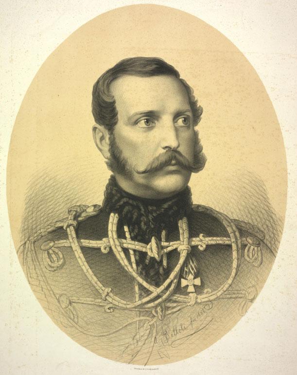 Le Tsar Alexandre II © Österreichische Nationalbibliothek