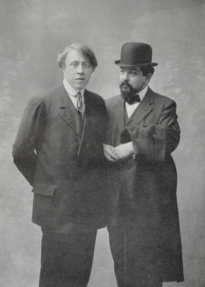 André Caplet et Claude Debussy © Gallica - BnF