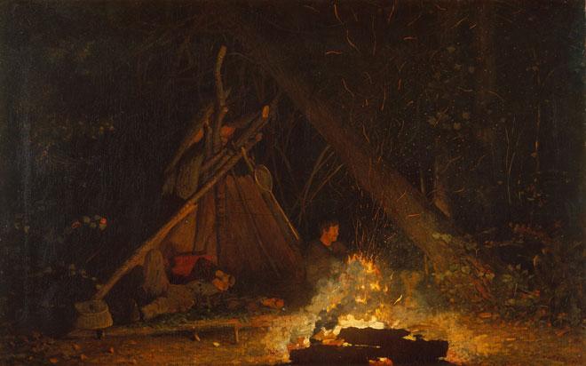 Feu de camp par Winslow Homer © Metropolitan museum