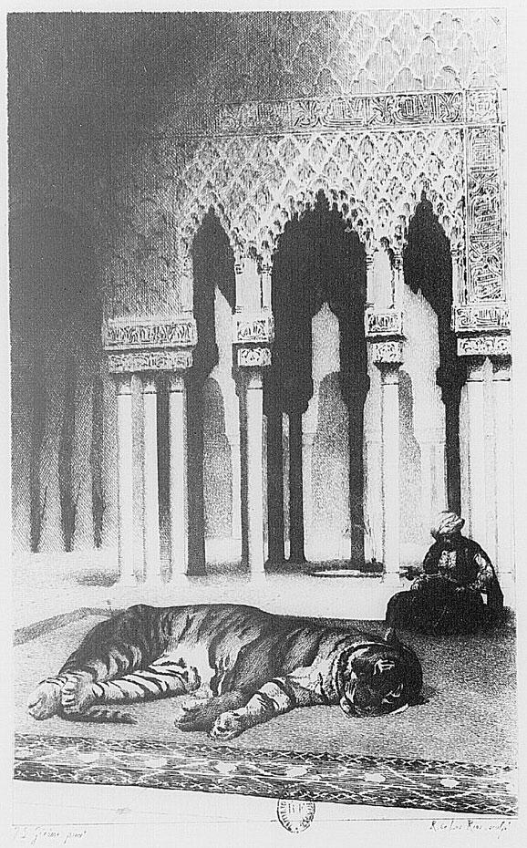 Illustration pour Les Orientales de Victor Hugo © Gallica-BnF