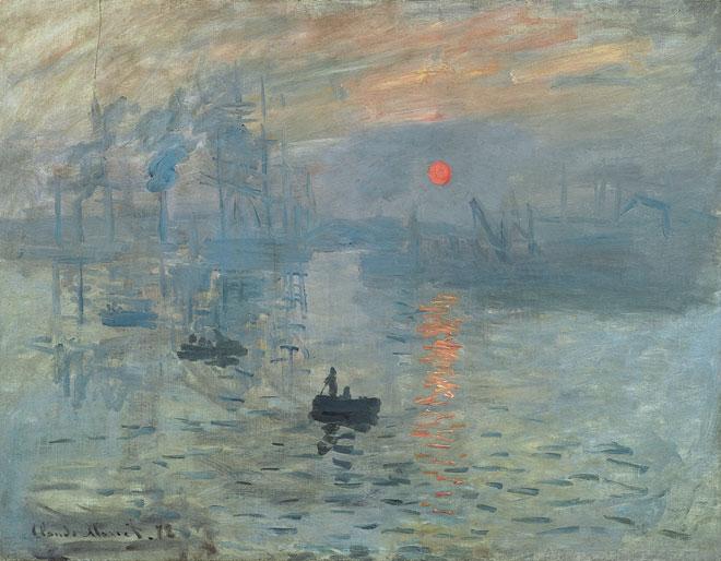 Impression soleil levant par Claude Monet © Musée Marmottan, Paris