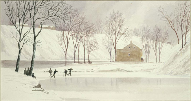 Patinage par Lefèvre James Cranstone © Museum of Fine Arts, Boston