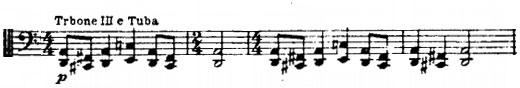 Partition Chant du rossignol,thème de la procession