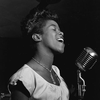 Sarah Vaughan au Café Society © William Gottlieb (photo) - Library of Congress