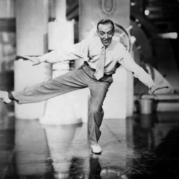 Slap that Bass, interprété par Fred Astaire dans Shall We Dance © NY Public Library, digital collections