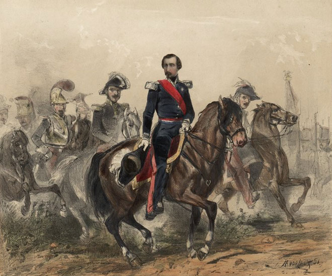 Andrieux Louis, Napoléon-Bonaparte, Président de la République, Réelu le 5 janvier 1852 ©Gallica-BnF