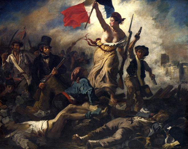 Eugène Delacroix, La Liberté guidant le peuple, 1830 © RMN, musée du Louvre