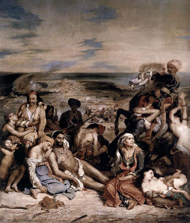 Eugène Delacroix, Le Massacre de Scio, 1824© RMN - musée du Louvre.jpg