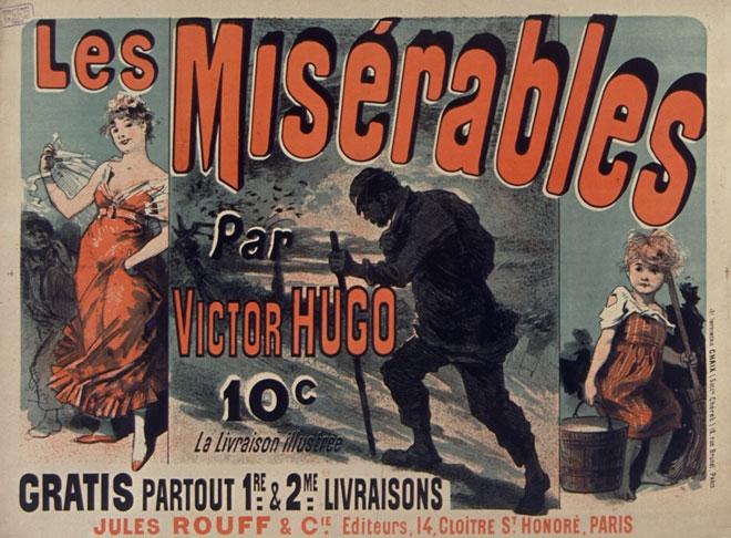 Jules Chéret, Les Misérables par Victor Hugo © Gallica - BnF