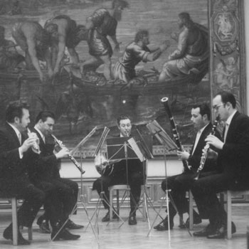 Quintette à vent de la Philharmonie de Dresde © SLUB-Deutsche Fotothek