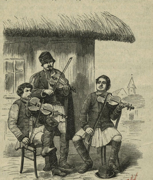 Musiciens roumains © NY Public Library, digital collections