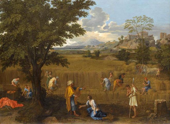 Nicolas Poussin, L'Été © RMN - musée du Louvre, Jean-Gilles Berizzi