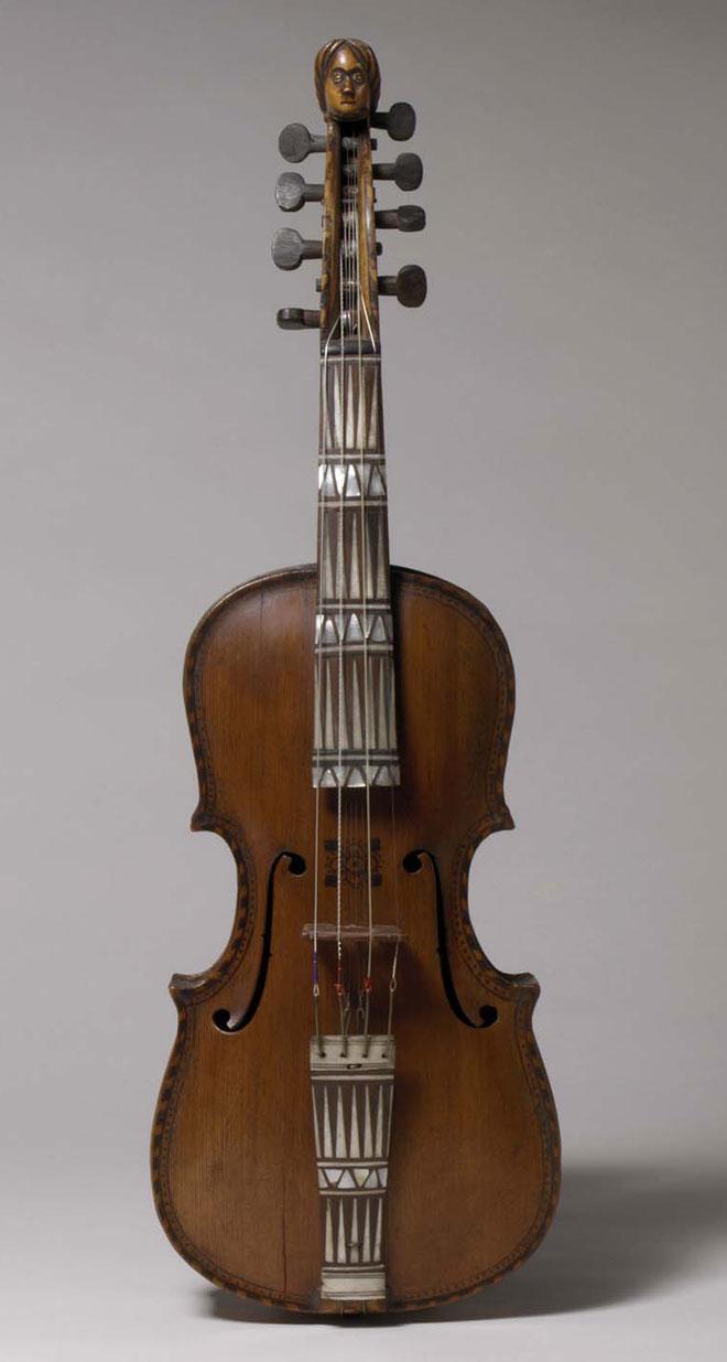 Violon de Hardanger, fabriqué par Isak Nielsen Botnen, 1756 © Metropolitan Museum