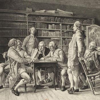 La Lecture chez Diderot, par Louis Monzies, 1888 © Gallica - BnF