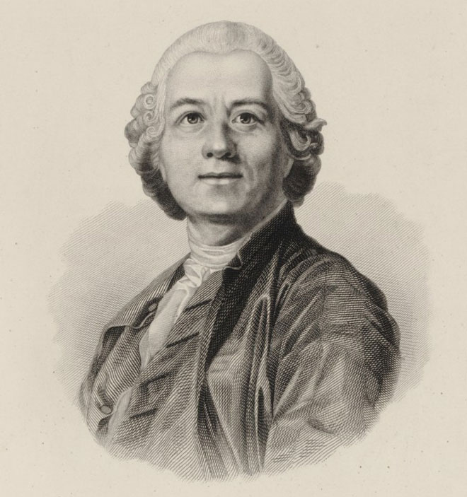 Christoph Willibald Gluck, d'après J.S Duplessis © Gallica - BnF