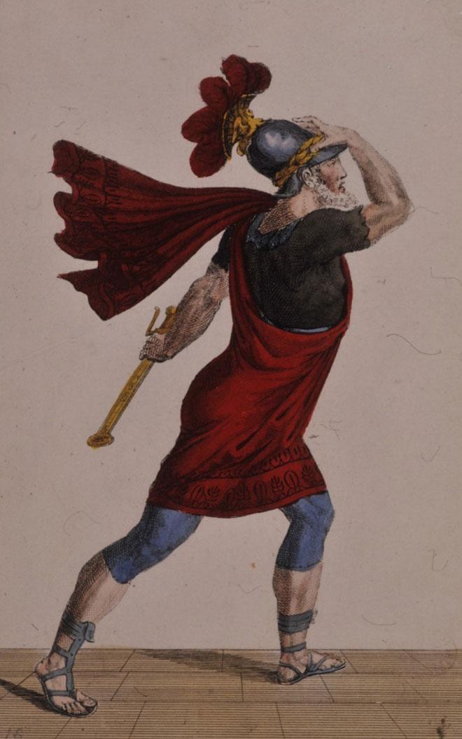 Mithridate, costume pour la tragédie de Jean Racine © Gallica-BnF