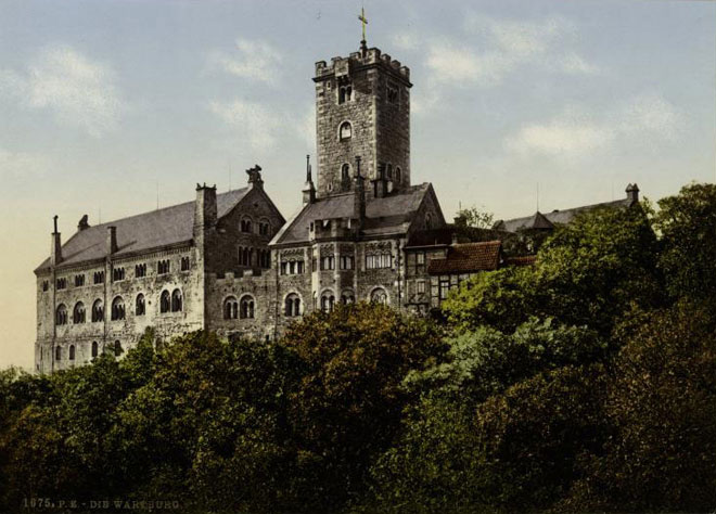 Château de la Wartburg © NY Public Library, digital collections