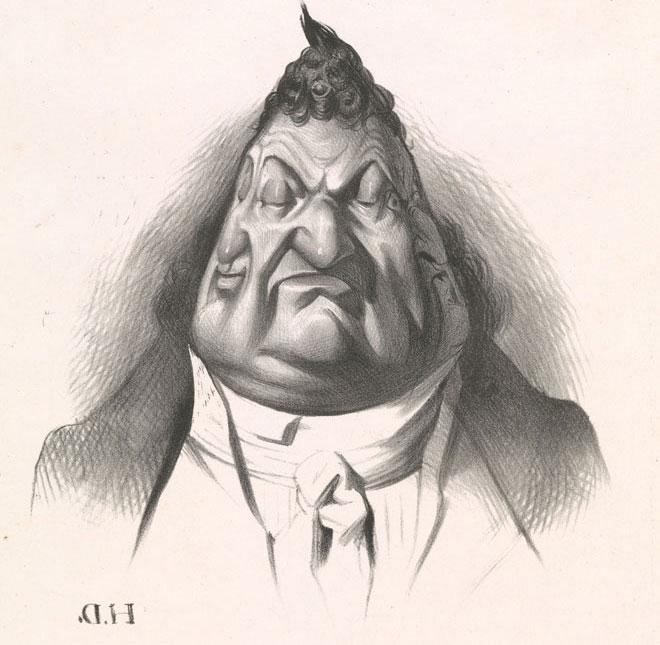Honore Daumier, Passé présent avenir © www.met-museum.org