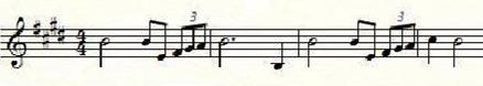 Richard Wagner, Siegfried-Idyll 1er thème