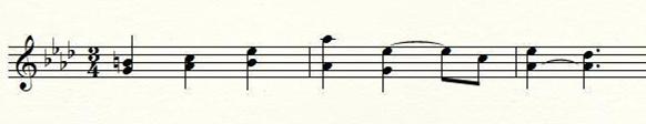 Richard Wagner, Siegfried-Idyll 2eme thème