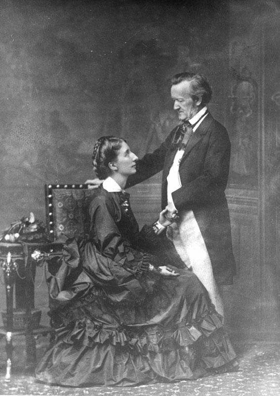 Richard Wagner et sa femme Cosima © Österreichische Nationalbibliothek