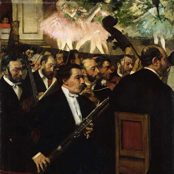 E. Degas, L'orchestre de l'Opéra © RMN, Grand-Palais