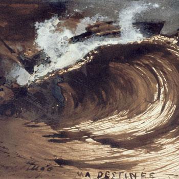 Ma destinée, par Victor Hugo, 1857. Maison Victor Hugo, Paris.