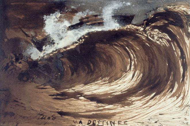 Victor Hugo, Ma destinée, 1857 ©Maison Victor Hugo, Paris