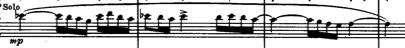Boléro de Ravel - Deuxième thème