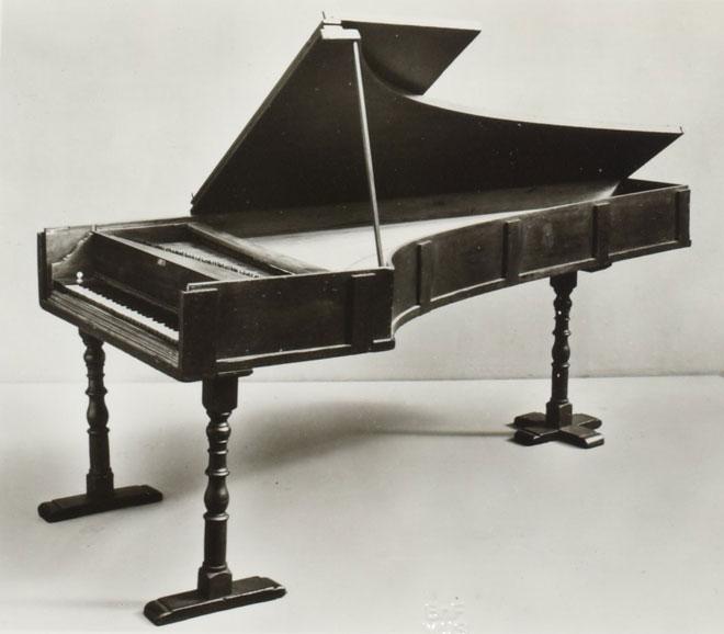 Bartolomeo Cristofori, Pianoforte, 1720 © Gallica - BnF