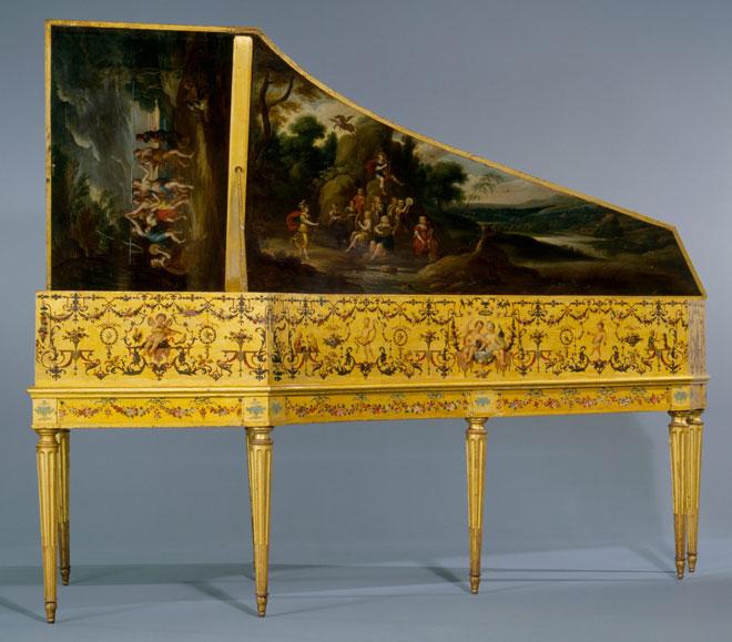 Clavecin Ruckers, Taskin (E.979.2.1) © Philharmonie de Paris, JM Anglès