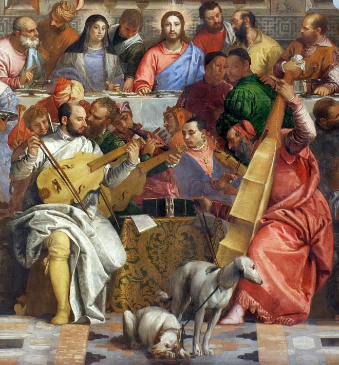 Paolo Veronese, Les noces de Cana, 1562 © Musée du Louvre