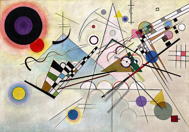 Vassily Kandisky, Composition VIII © MoMa
