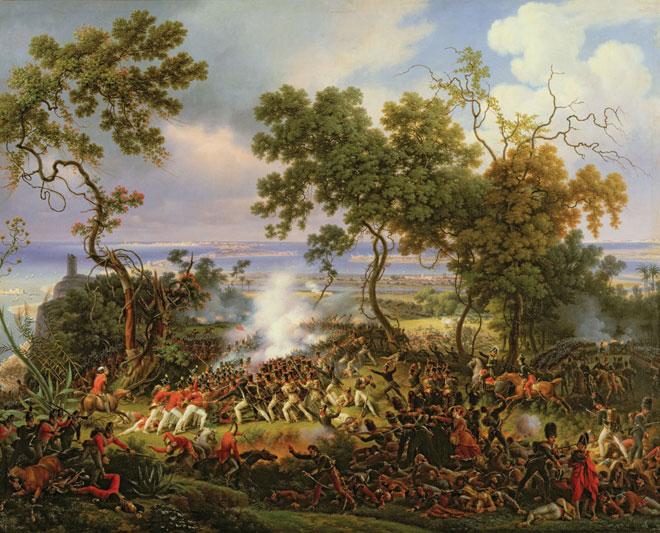 La bataille de Chiclana, Louis-François Lejeune, 1822 © Château de Versailles
