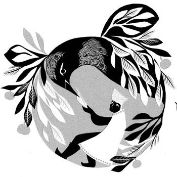 Diriger l'oiseau de feu - Illustration de Sandrine Kao