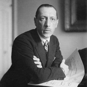 Portrait d'Igor Stravinski |