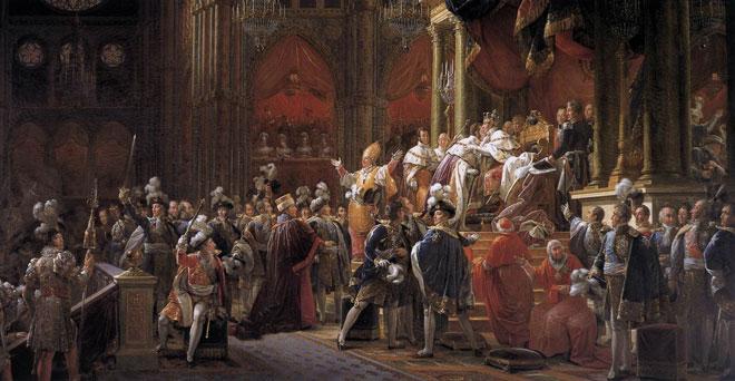 François Gérard, Le sacre de Charles X vers 1827 © Musée des beaux-arts de Chartres