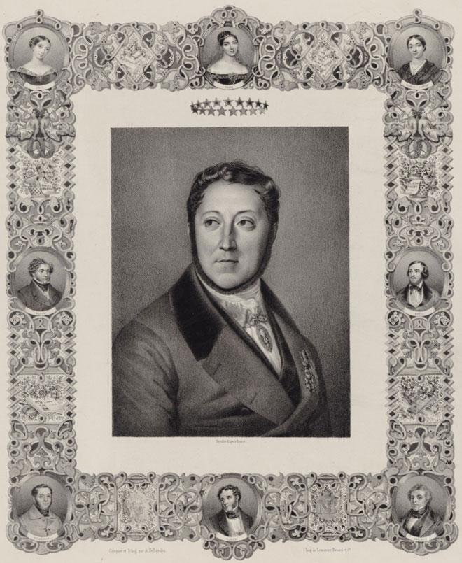 Louis Dupré, Gioachino Rossini © Gallica - BnF