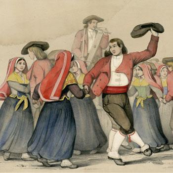 Danses (Eaux-Bonnes, Vallée d'Ossau), Pierre Gorse © Bibliothèque municipale de Toulouse