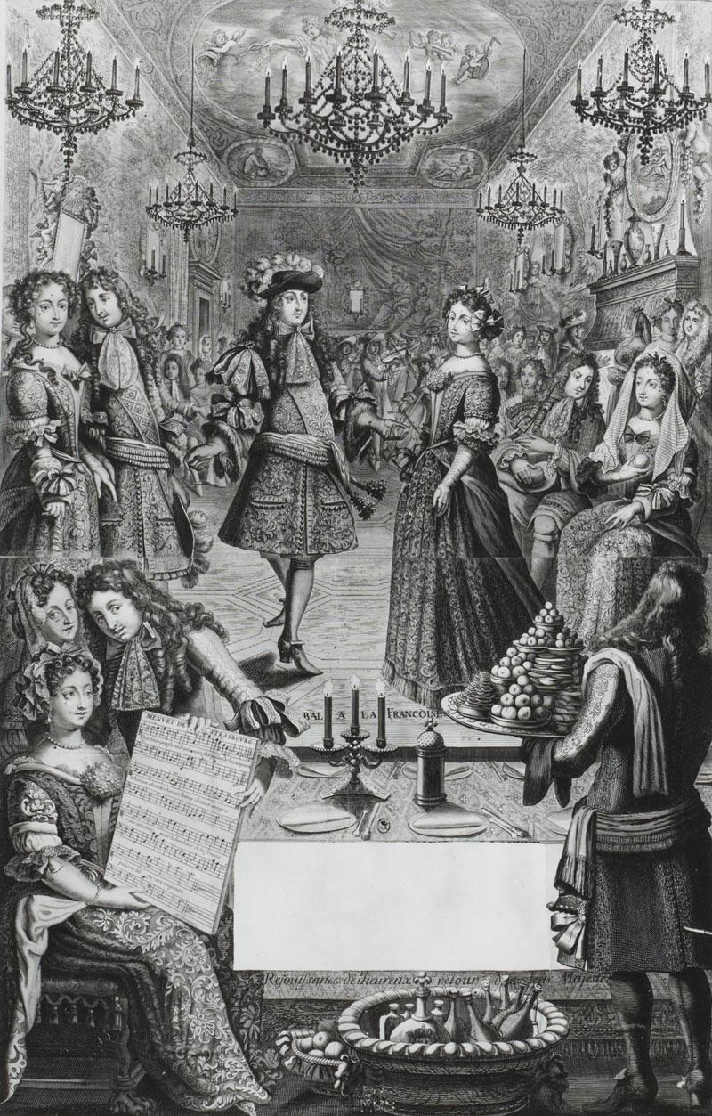 Menuet de Strasbourg : almanach de 1682, artiste français du XVIIe siècle © BnF, département musique