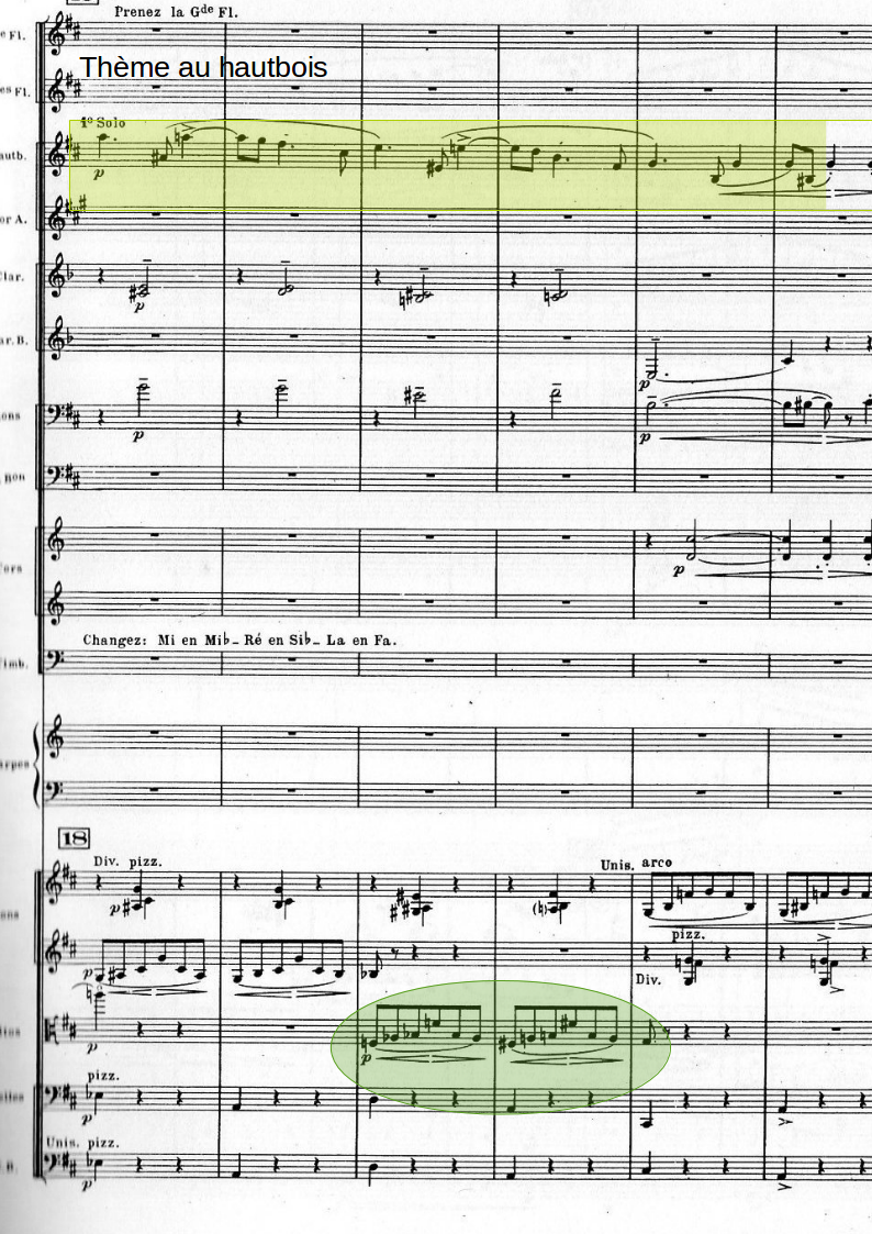 extrait partition la valse de ravel