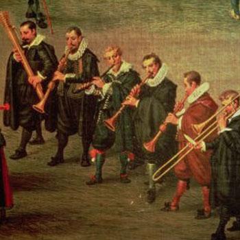 L'Ommegang de Bruxelles le 31 mai 1615, par Denis van Alsloot (détail) © Museo nacional del Prado