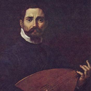 Portrait Giovanni Gabrieli par Annibale Carracci © Wikipedia