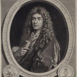 Portrait du compositeur Jean-Baptiste Lully, secrétaire du Roy et sur-intendant de sa musique / Paulus Mignard © BNF