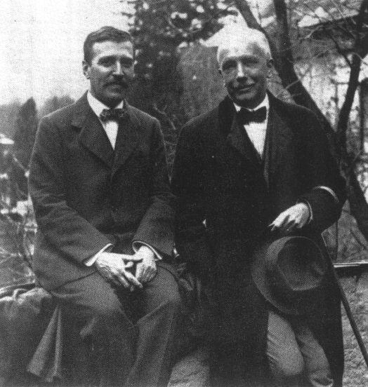 Hofmannsthal et Strauss vers 1915 © D.R.