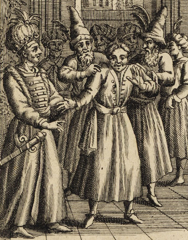 Le Bourgeois gentilhomme, estampe © Gallica-BnF