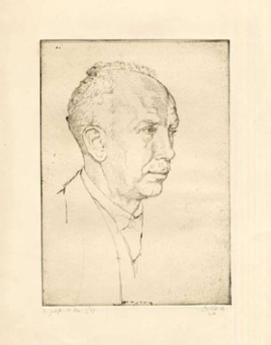 Strauss en 1916 par Emil Orlik  © D.R.