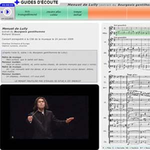 Guide d'écoute Menuet de Lully - Richard Strauss