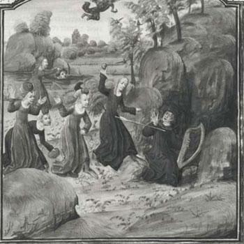 La Mort d'Orphée, Métamorphoses d'Ovide [détail] © Gallica BnF