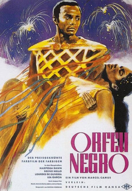 Affiche du film Orfeu Negro © Wikipedia